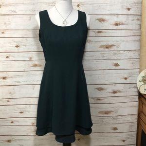CDC Hunter Green Cocktail Dress Size 10